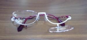 メイクアップ用メガネ