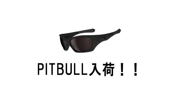 PITBULL(ピットブル)入荷!!